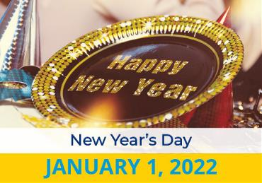 New Year's Day 2022 Image